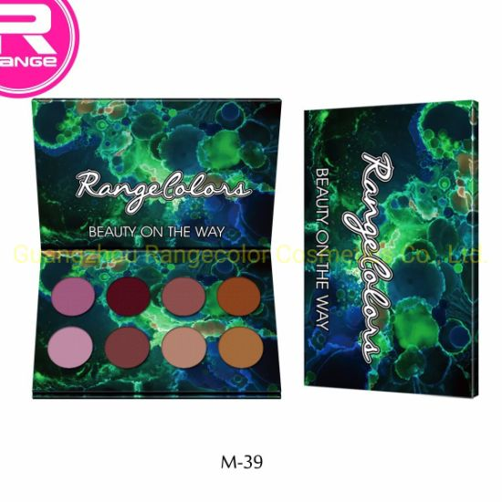 New Designed 8 Color Cardboard Eyeshadow Palette Customized Colors Matte Color Eyeshadow pictures & photos