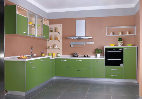 Restain Miami Yellow Painting Kitchen Cabinet