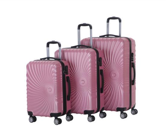 Hotsale Design Trolley Case with 4 Wheels, Sky Travel Luggage Bag (XHA137)