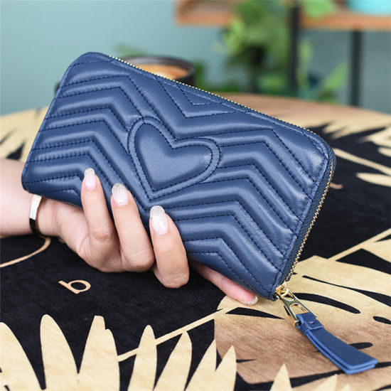 2020 Genuine Real Leather Women Wallets Ladies Quality Fashion Wallet Famous Designer Lady Wallet Wholesale Luxury Brand Men Wallet Guangzhou Factory OEM Custom
