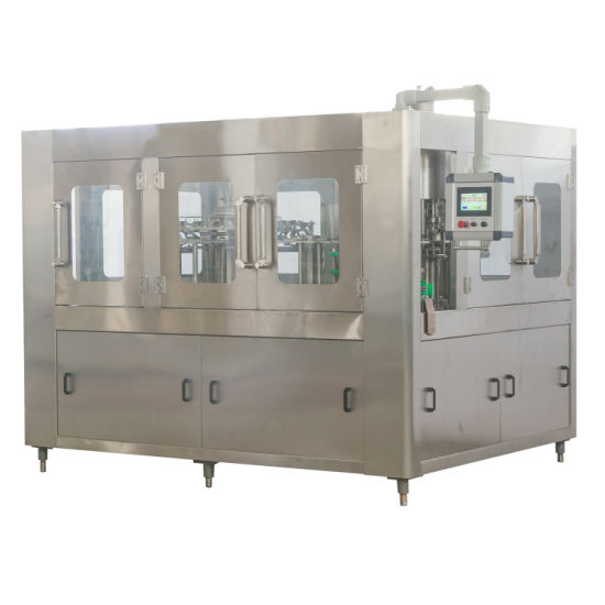 Zhangjiagang Bottle Line Plant Beverage/Juice/ Carbonated Drink Soda/Soft Drink/Water Mineral Pure Water Liquid Filling Automatic Bottling Machine