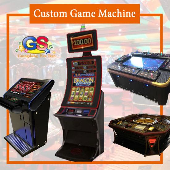 OEM Slot Machine Cabinets Video Game Gambling Casino Machines for Sale