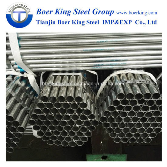 ASTM A53 Schedule 20 40 2 Inch 4 Inch 5 Inch 6 Inch 60mm 50mm Low Carbon  St37 ERW Pre Galvanized Steel Pipe / Tube Price