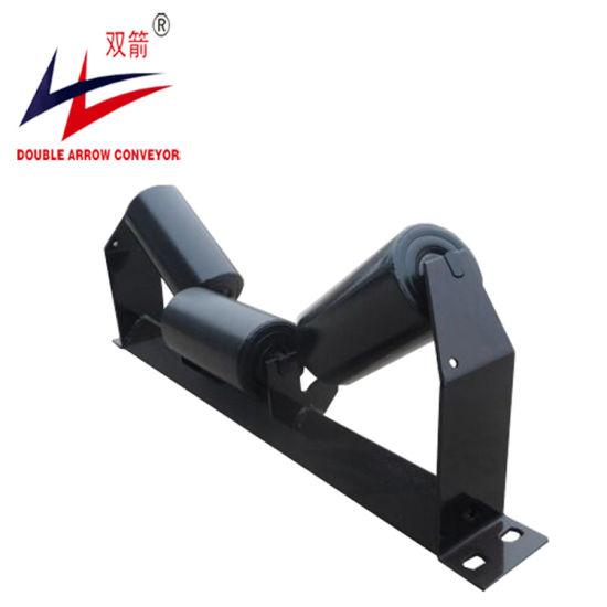 Double Arrow Good Quality Steel Roller, Nylon Roller for Steel Plant Cement Plant Belt Conveyor