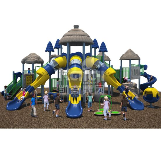 Outdoor Playground of Ancient Tribe Theme for Children Parks with High Quality