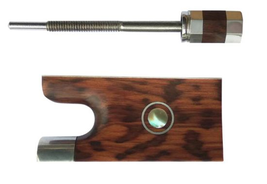 Bow Frog Ebony Frog Bow Accessories, for Bow Maker Bow Restorer Bow Restoration Bow Repair for Violin Luthiers