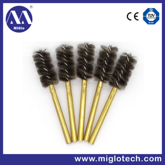 Customized Industrial Brush Tube Brush for Deburring Polishing Bristle Brush Wire Brush (TB-100058) pictures & photos