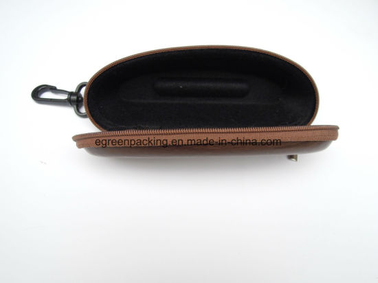Reading Glasses Small EVA Case Wood Leather with Zipper pictures & photos