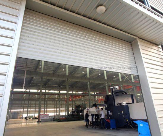 Industrial Commercial Aluminum Metal Warehouse Power Automatic Rolling Roll up Roller Shutter Security Garage Door