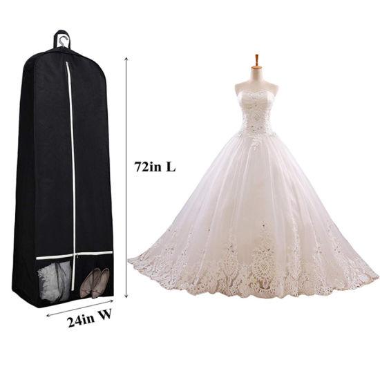 Non-woven Fabric Wedding Dress Gown Dustproof Cover Bridal Garment Storage Bag