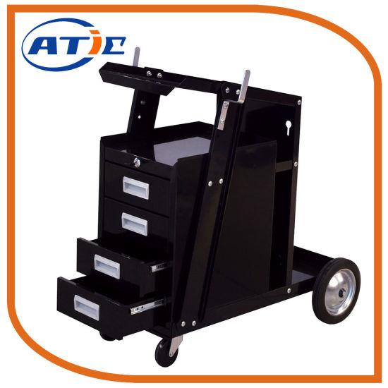 Stainless Steel Warehouse Transfer Hand Cart Portable Hand Pull Trolley Prices pictures & photos