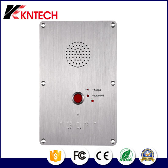 Elevator Amplified Phone Knzd-09 Outdoor IP65 for Public