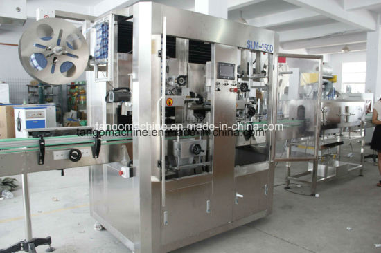 Automatic Round Bottle Square Bottle Labeling Applicator Labeler Machine for Water Juice Milk Tea Wine