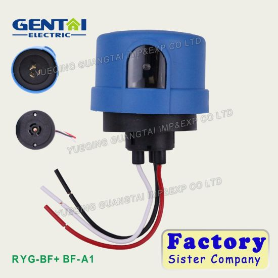 Wiring Photocell Light Control: China DC 12V Or 24V Photo Control Light Photocell Sensor