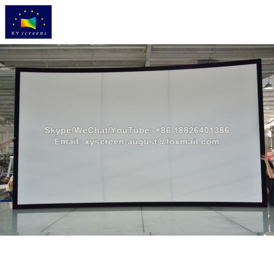 Xyscreen Customized Size Diy Curved Projector Screen Entertainment Equipment