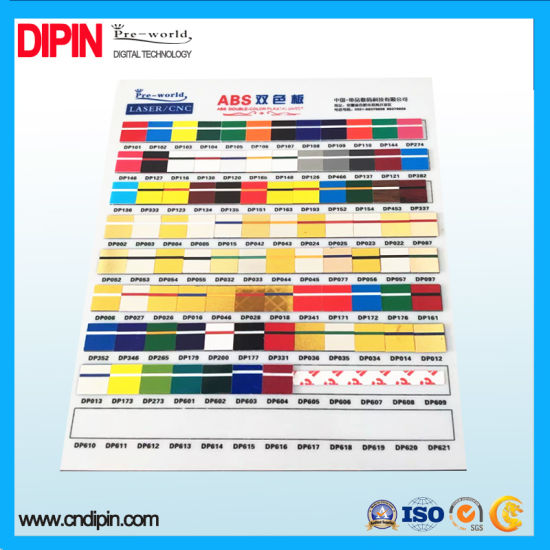 China ABS Double Color Plastic Sheet for Advertising - China Double ...