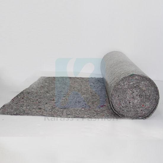 Woven Wool Felt Fabric Anti Static Paint Mat Floor Protection