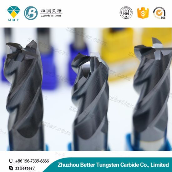Carbide End Mill Cutter/Ball Nose Milling Grinder/ Endmill Cutter Sizes pictures & photos
