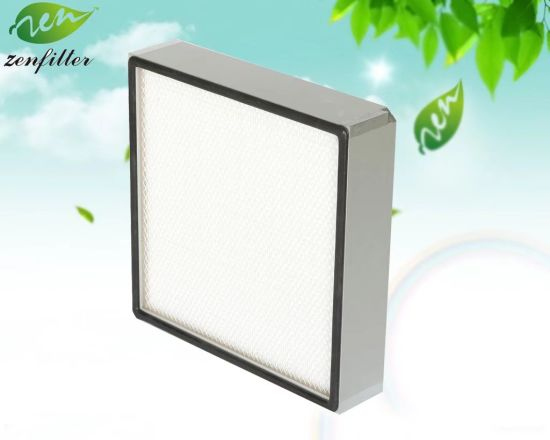 Panel Air Filter/ HEPA Filter for Hospital Air Purification System