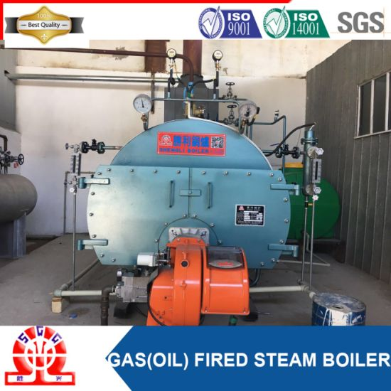China Horizontal Natural Gas Water Heater Boiler for Milk Plant ...