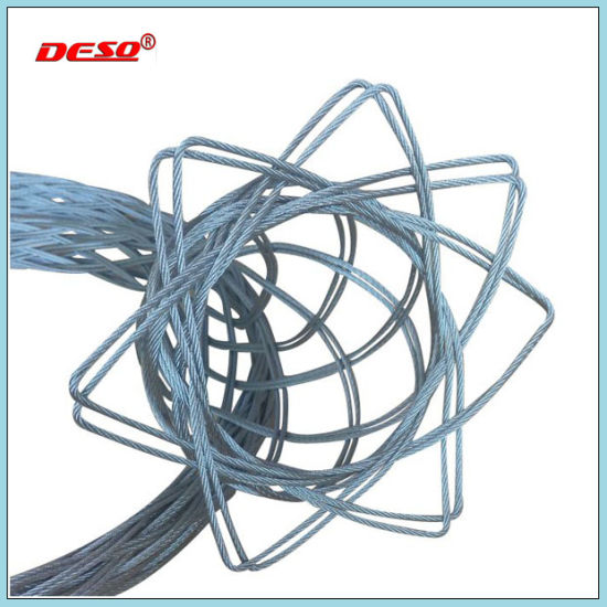 China Steel Wire Rope Cable Socks with Pulling Grip - China Cable ...