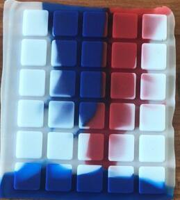 Hot Compressive Silicone Keypad Muti- Colors Hot Seller