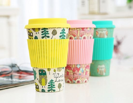 Reusable Biodegradable Dinnerware Decal Bamboo Fiber Coffee Mug  sc 1 st  Hefei Moch Imported and Exported Co. Ltd. & China Reusable Biodegradable Dinnerware Decal Bamboo Fiber Coffee ...