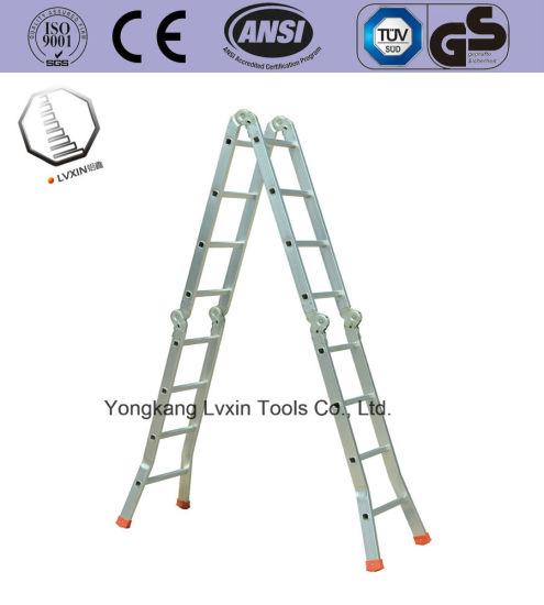 High Quality Multi-Purpose Splayfoot Hinge Ladder