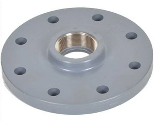 High Quality PVC Pipe Fitting Flange Adaptor UPVC Butterfly Valve Flange UPVC Ts Flange PVC Blank Falnge PVC Blind Flange DIN Standard for Water Supply