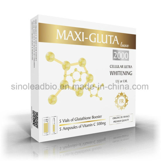 Thailand Whitening 1500mg Glutathione with Vitamin C 500mg for Injection