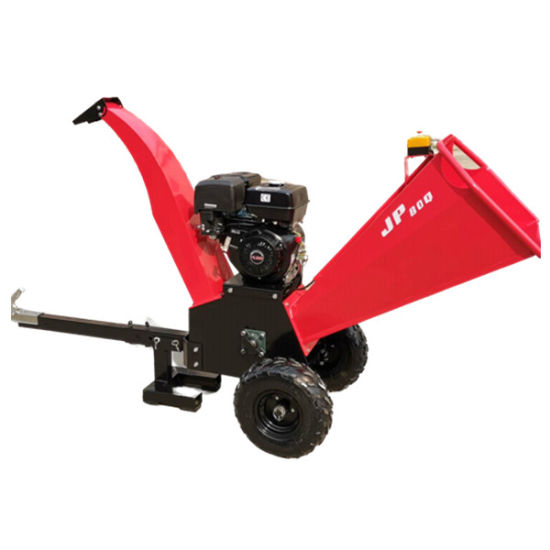Towable off-Road Chipper Wood Tree Branch Shredder
