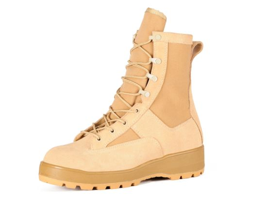 Military Tactical Boots Cheap Military Boots and PU Injection Boots Sc-6181