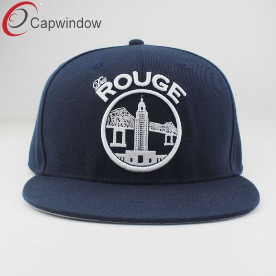 Custom Design Snapback Cap/ Men Sport Cap with Embroidery Logo pictures & photos