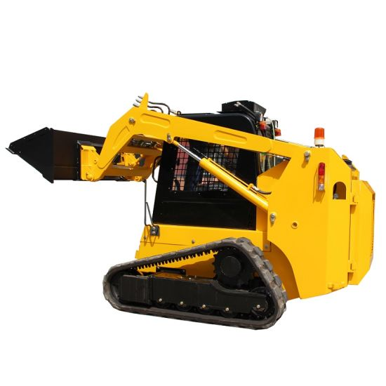 China Compact Track Skid Steer Loader with Ce - China Skid