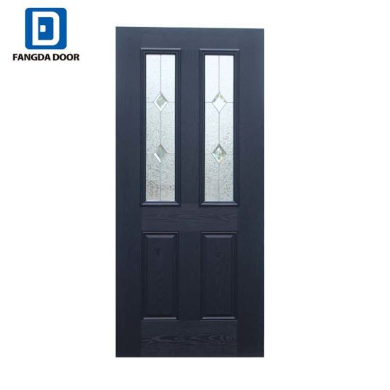 China Fangda European Style Exterior Composite Front Door for ...