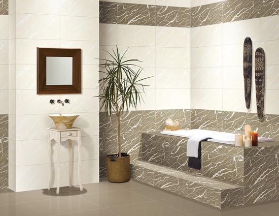 China Non Slip Ceramic Tile Polish Galzed Ceramic Bathroom Tile