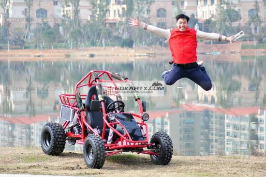 Latest Hot Selling New 250cc Single Seat off-Road Gokart pictures & photos