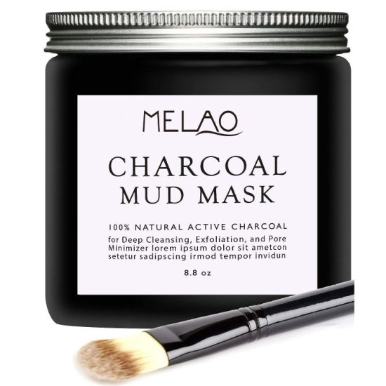 Activated Charcoal Mud Mask Facial Mask Deep Cleansing Exfoliation