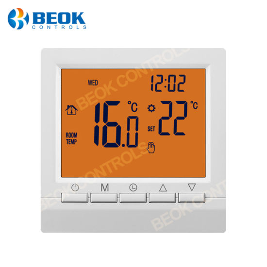 China Beok Bot-513 Room Gas Boiler Thermostat with Weekly ...