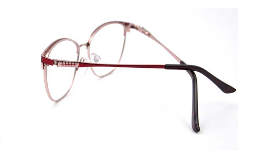 china spectacle nice look fashion eyeglasses metal frames for