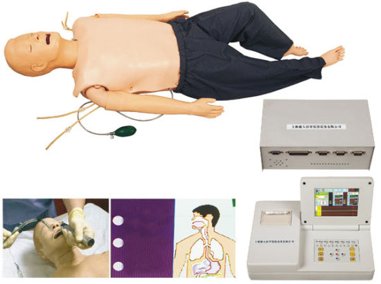 Didactic Equipment Medical Comprehensive First Aid CPR Training Manikin pictures & photos