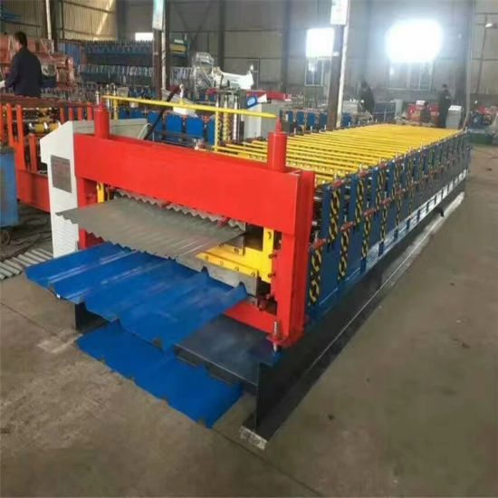 Double Layer Roll Forming Machine/Tile Making Machine/Construction Building Materials