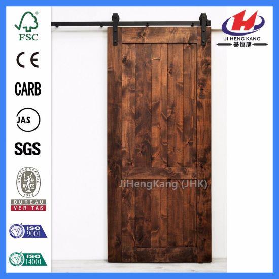 Interior Design Modern Wooden Barn Doors Jhk Sk02 China Oak Barn