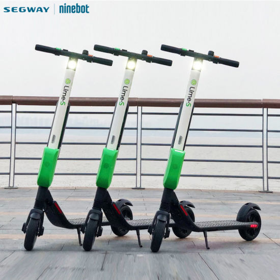 Segway Top Speed 30km/H Original Bird Sharing Electric Scooter, Ninebot Es4  Two Wheel Foldable Lime Sharing Scooter