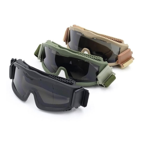 7623aa3daa9 Most Protective Practical War Military Army Bulletproof Goggles Glasses Mens