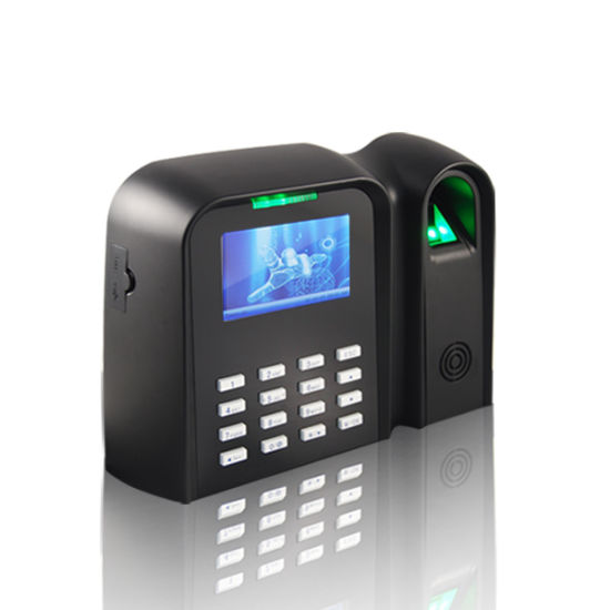 China Security Products Fingerprint Time Attendance with RFID Card