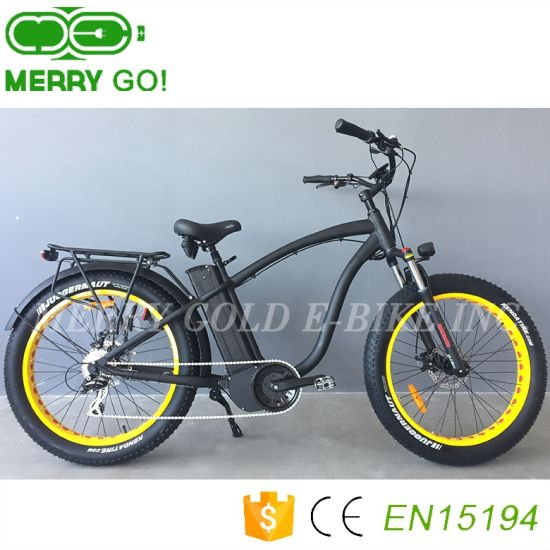 New Design Hot Sale Powerful 1000W MID Drive Motor Electric Bicycle/Fatbike pictures & photos