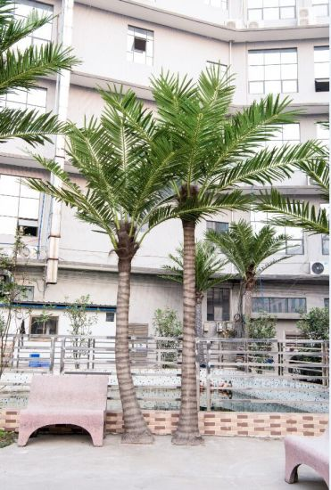 Outdoor Palm Trees For Sale.Customize Decorative Metal Cheap Artificial Palm Trees
