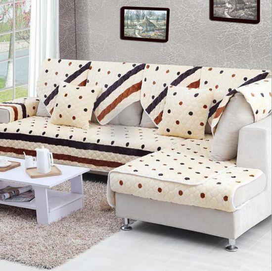 Fashion China 100 Cotton Fabric Sofa Covers