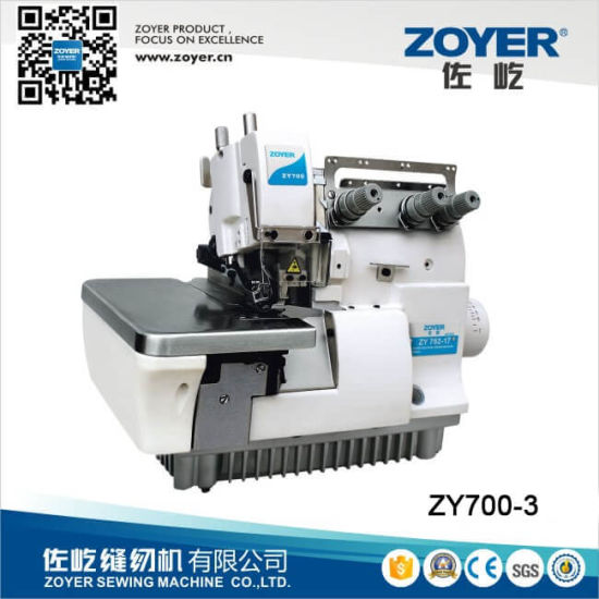 Zy700-3 Zoyer Direct Drive Super High Speed Overlock Sewing Machine